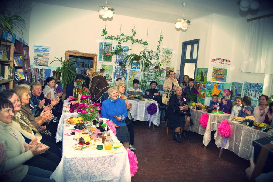 Фестиваль варенья в Одесской библиотеке номер 29.
