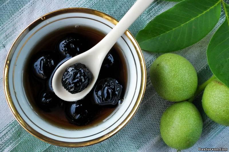 Ореховое варенье. Фото с dasturxon.com