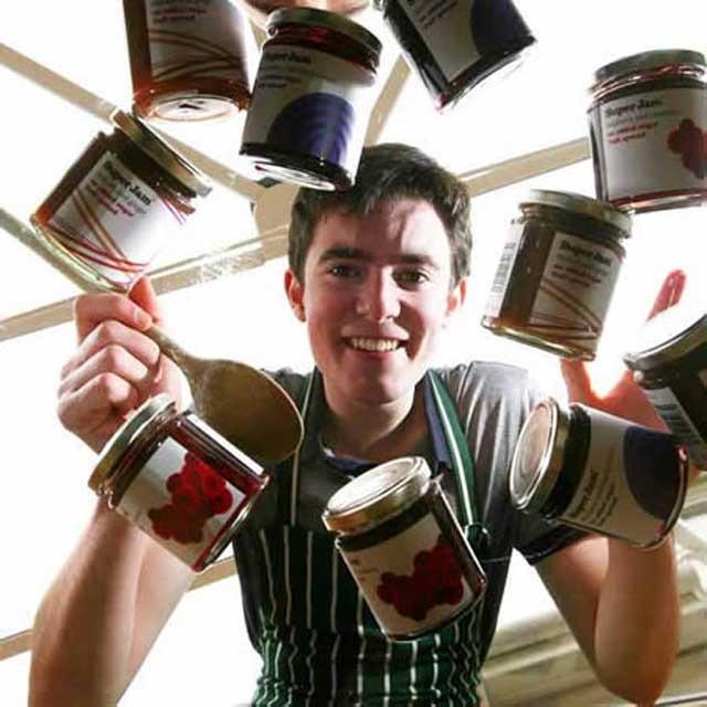 Фрейзер Доэрти из Шотландии сколотил милионное состояние на варенье
