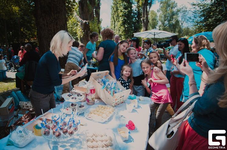 «Ягодный фестиваль» в Черновцах, фото 2015 года