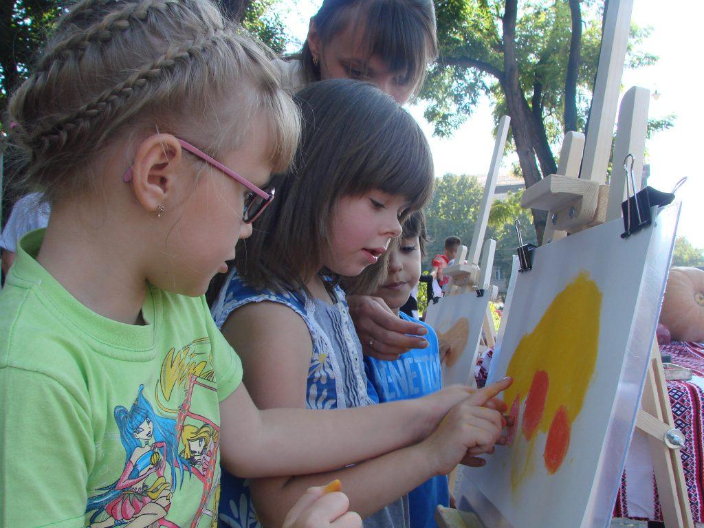 Дитяча локація Фестивалю домашньої консервації в Запоріжжі