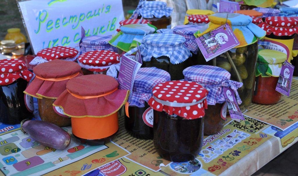 Варенье на Всеукраинском Фестивале домашней консервации в Запорожье