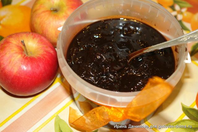 Яблочное шоколадное варенье. Фото с gotovim-doma.ru